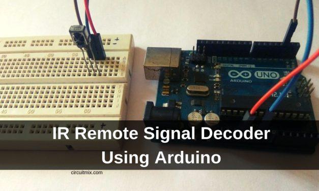 IR Remote Signal Decoder Using Arduino