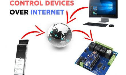 Control Devices Over Internet via Web-browser!