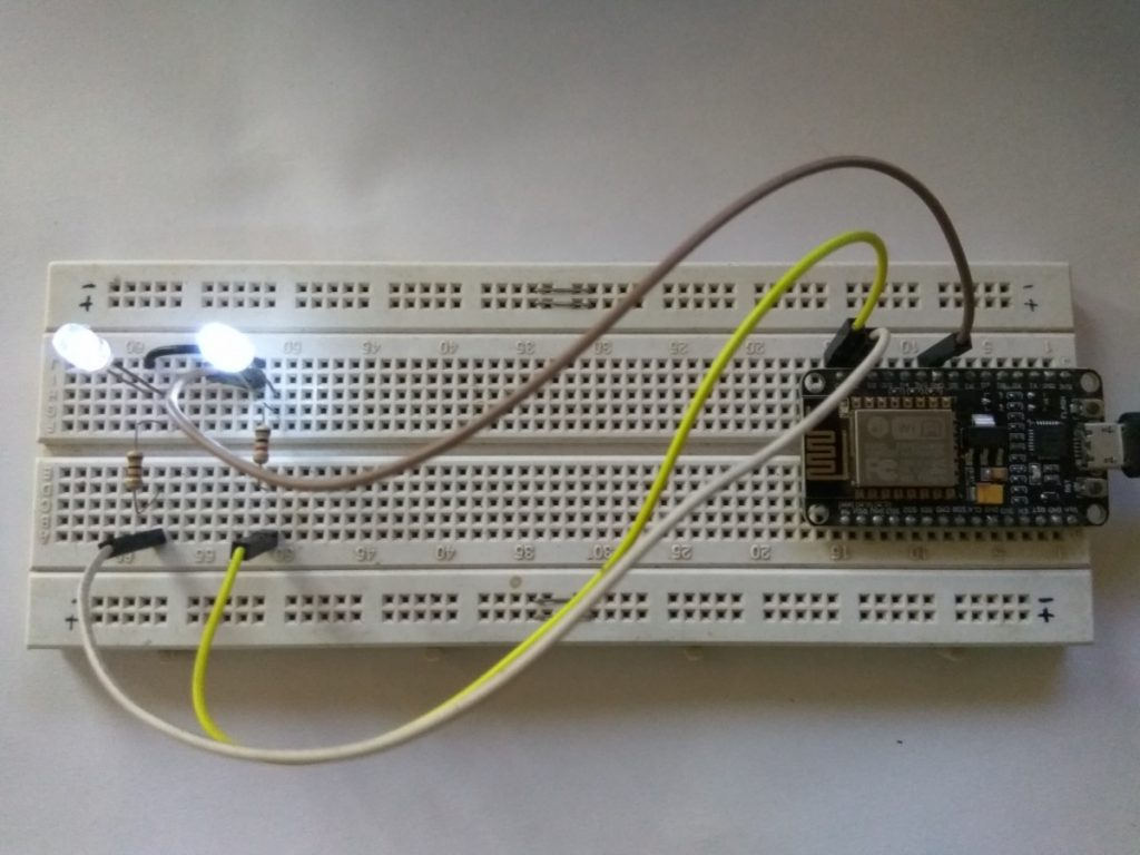 LED Control Using Blynk App testing