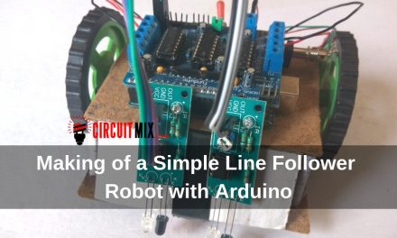 Making of a Simple Line Follower Robot with Arduino