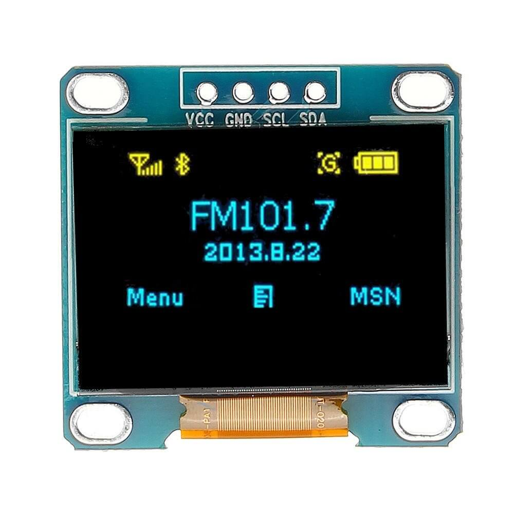 OLED display for arduino and electronics projects