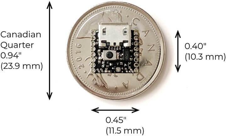 ATTO Arduino board size