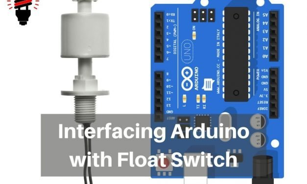 Interfacing Arduino with Float Sensor